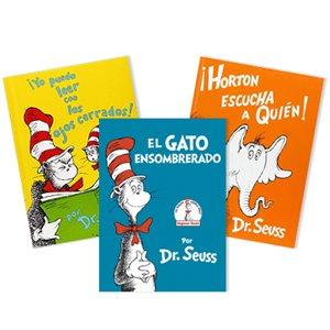 Dr. Seuss Thematic Units - English / Language Arts (Spanish) (4 Books)