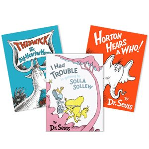 Dr. Seuss Thematic Units - Character Education & Emotions (13 Books)