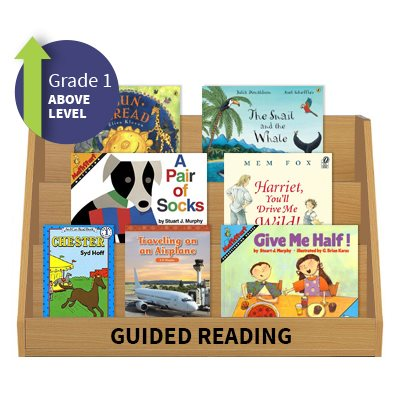 Guided Reading Collection Grade 1 Above Level 20 Books