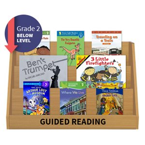 Guided Reading Collection: Grade 2 Below Level (20 Books)