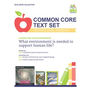 Common Core Text Set Teacher Guide: Humans and their Environment