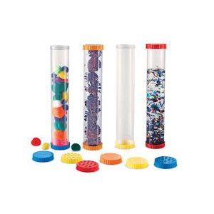 Primary Science Sensory Tubes, Set Of 4