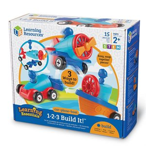 1-2-3 Build It™Car-Plane-Boat