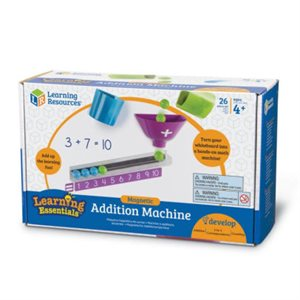 Magnetic Addition Machine