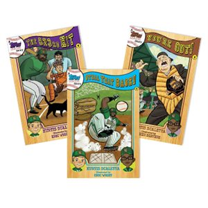 Topps League Baseball Stories (8 Book Set)