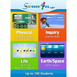 Science4Us Subscription - 100 Students