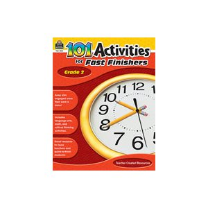 101 Activities For Fast Finishers (Grade 2) [Enhanced eBook] (eBook)
