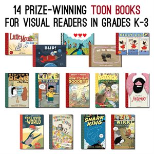 14 Prize-Winning TOON Books for K-3